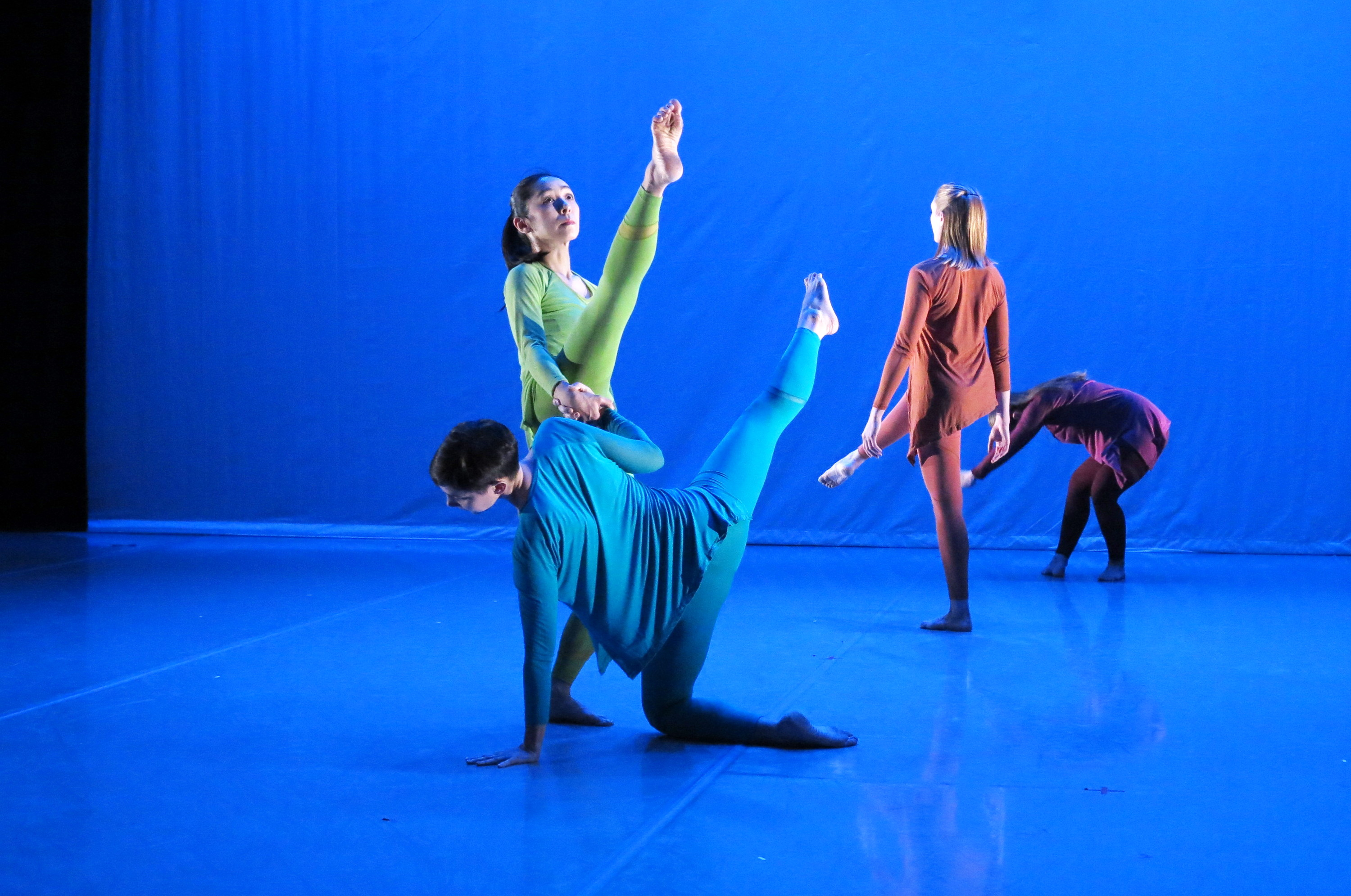 Vencl Dance at the Martha Graham Center of Contemporary Dance, February 2016